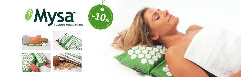 Mysa il tappetino per rilassare e alleviare la tensione - sconto 10%